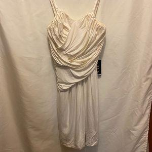 Cream Express dress